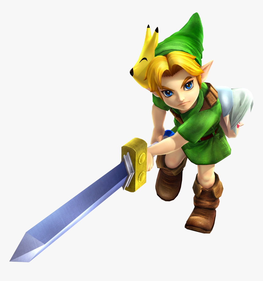 Hyrule Warriors Young Link Hd Png Download Kindpng