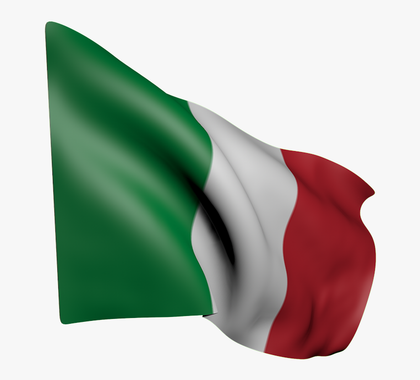Flag, Italy, Italian, Green, White, Red, Wave - Italien Flagga Png, Transparent Png, Free Download