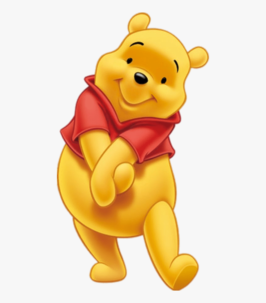 Winnie The Pooh Cute Pose - Downtown Disney, HD Png Download, Free Download