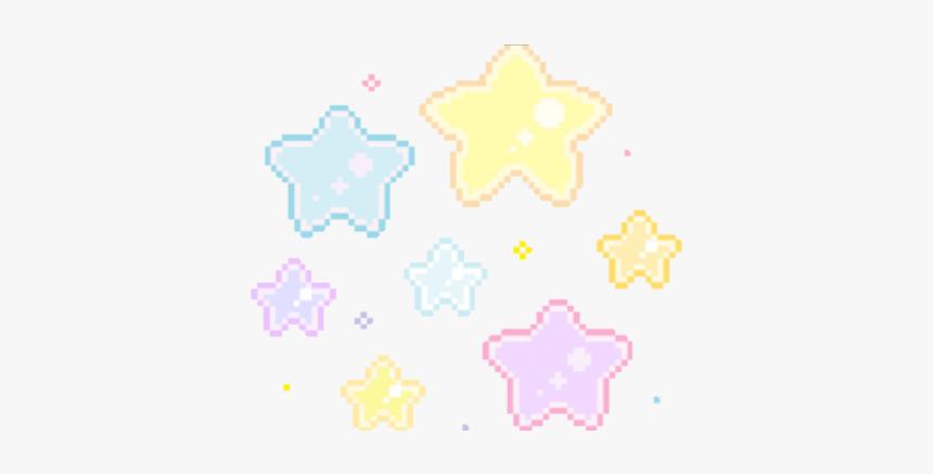 Pixel Pixels Stars Tumblr Kawaii Aesthetic Cutout Notmi Transparent Pixel Star Gif Hd Png Download Kindpng
