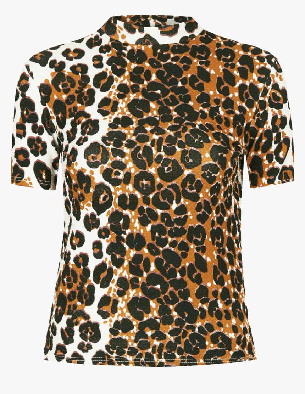 Cheetah Print Png Download - Cheetah Print Top Png, Transparent Png, Free Download