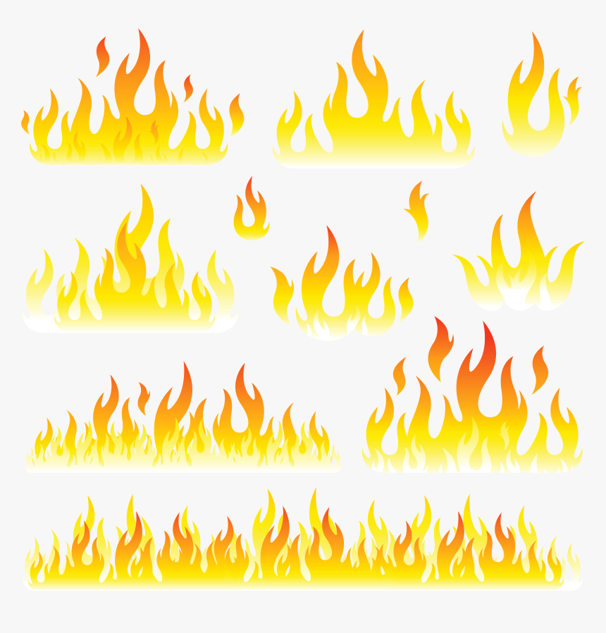 Flames Clipart - Flame, HD Png Download, Free Download