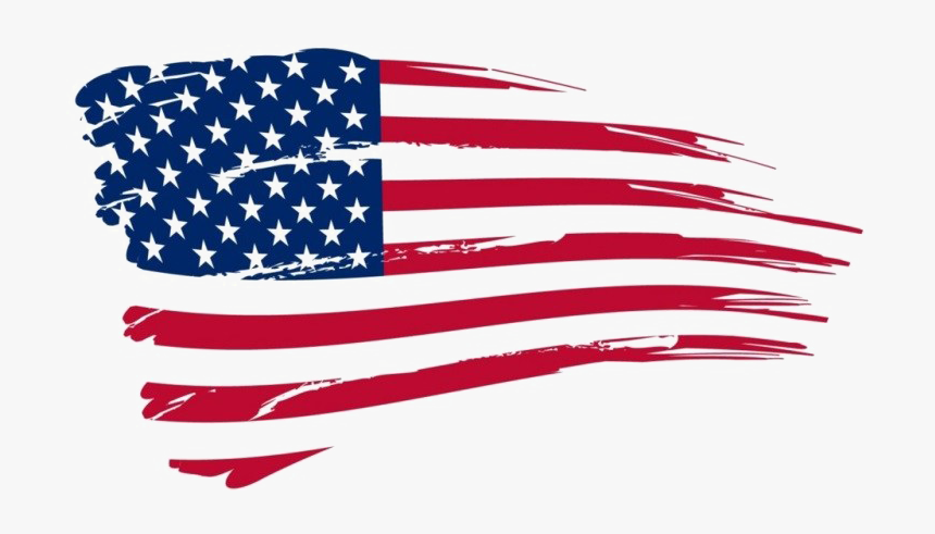 Flag Day Transparent - 4th Of July Flag Png, Png Download, Free Download