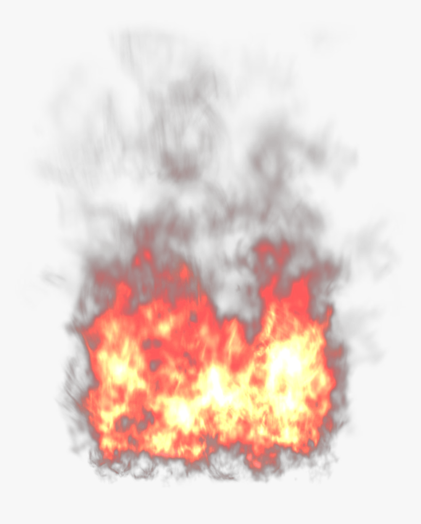Flames Clipart Real Flame - Realistic Fire Transparent Background, HD Png Download, Free Download
