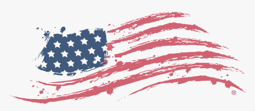 Memorial-day - American Flag Business Logo, HD Png Download, Free Download
