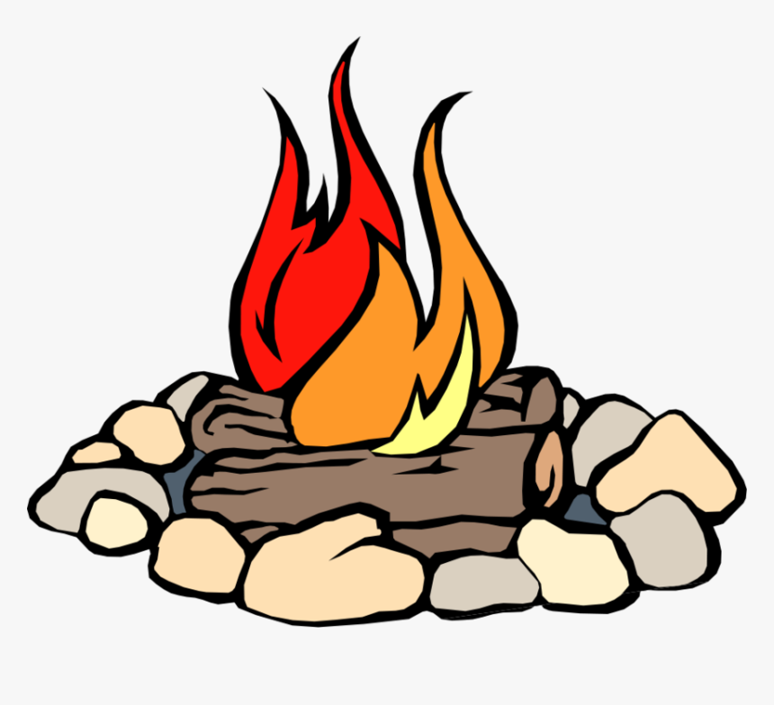 Clipart Fire - Clip Art Camp Fire, HD Png Download, Free Download