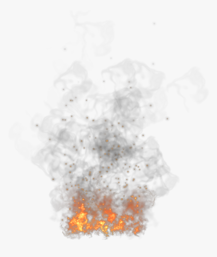 Fire Smoke Png - Fire Smoke Gif Transparent Background, Png Download, Free Download