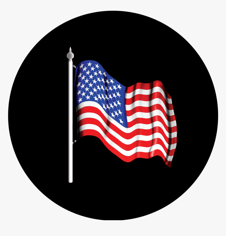 Apollo Flag Usa Gobo - Flag Of The United States, HD Png Download, Free Download