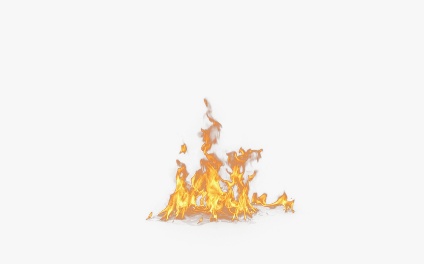 Real Flame Png - Flames On The Ground, Transparent Png, Free Download