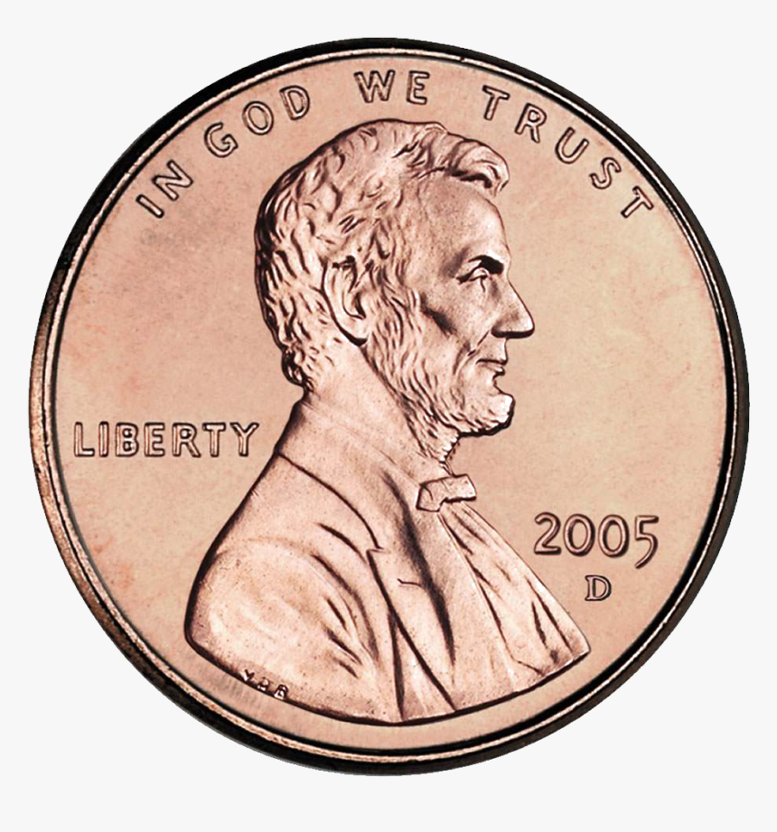 God We Trust Coin, HD Png Download, Free Download