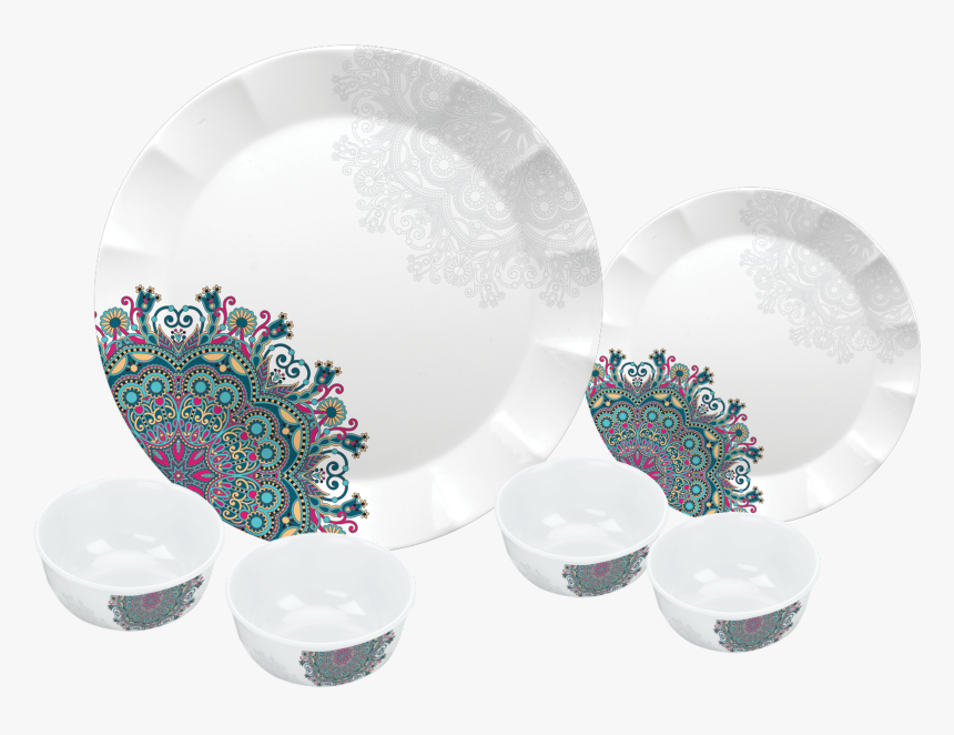 24 Pc Dora Dinner Set - Plate, HD Png Download, Free Download