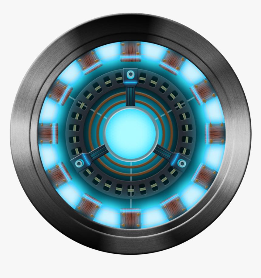 Iron Man Reacteur Ark - Arc Reactor Iron Man Png, Transparent Png, Free Download
