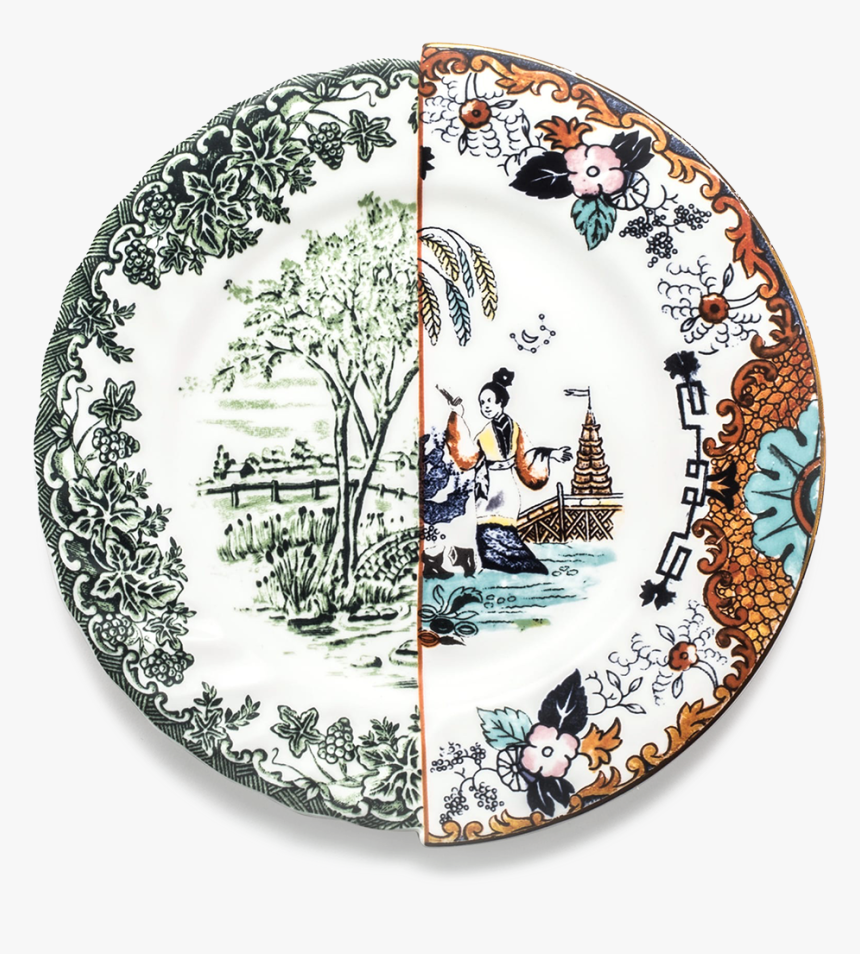 Seletti Hybrid Collection, Ipazia Dinner Plate-0 - Seletti Hybrid Plates, HD Png Download, Free Download