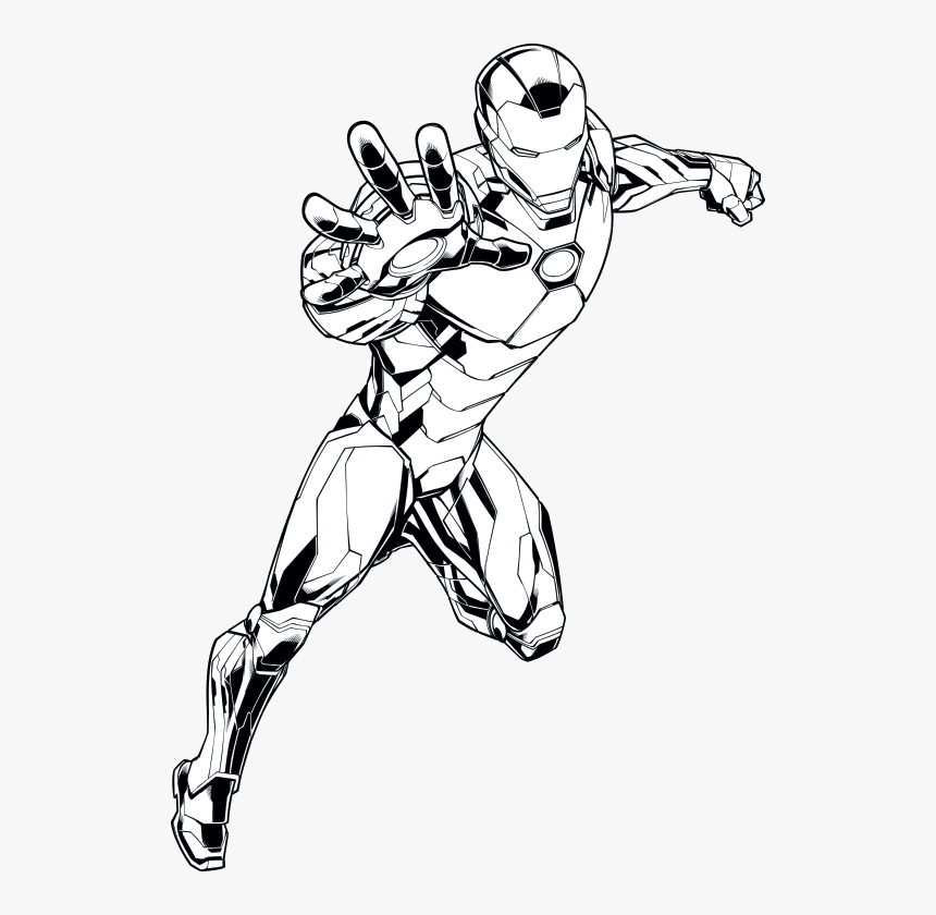 Iron Man Draw Armor, HD Png Download, Free Download