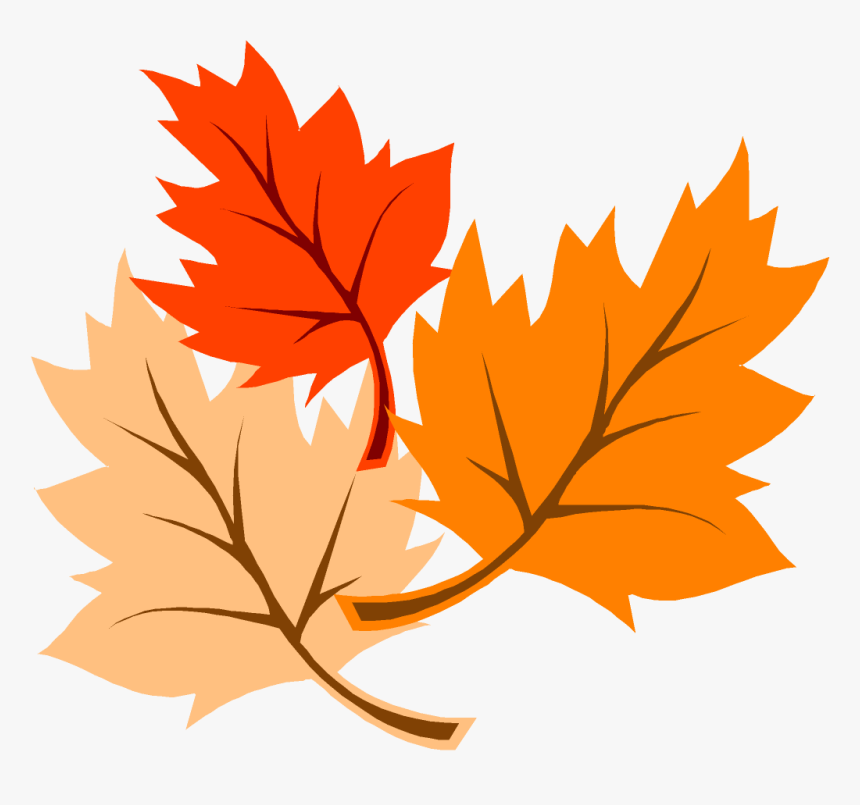 Cartoon Fall Leaves Transparent Background Fall Clip Art Hd Png Download Kindpng