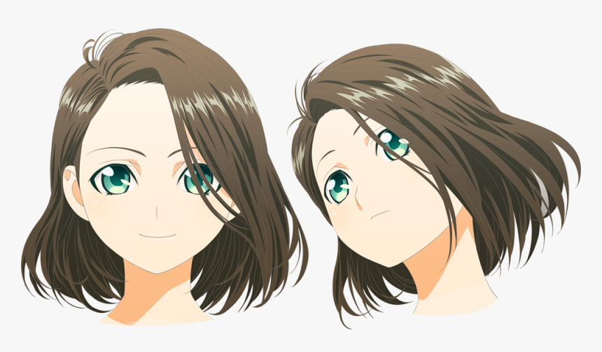 Anime Girl Face Png , Png Download - Girl Anime Face Png, Transparent Png, Free Download