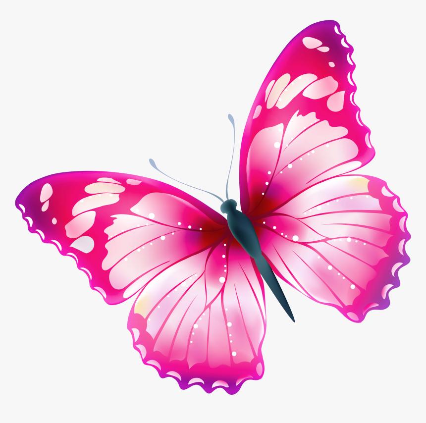 Bildergebnis F R Sch - Clip Art Butterfly Transparent, HD Png Download, Free Download
