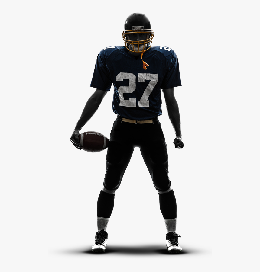 Transparent Sports Announcer Clipart - American Football Player Png, Png Download, Free Download