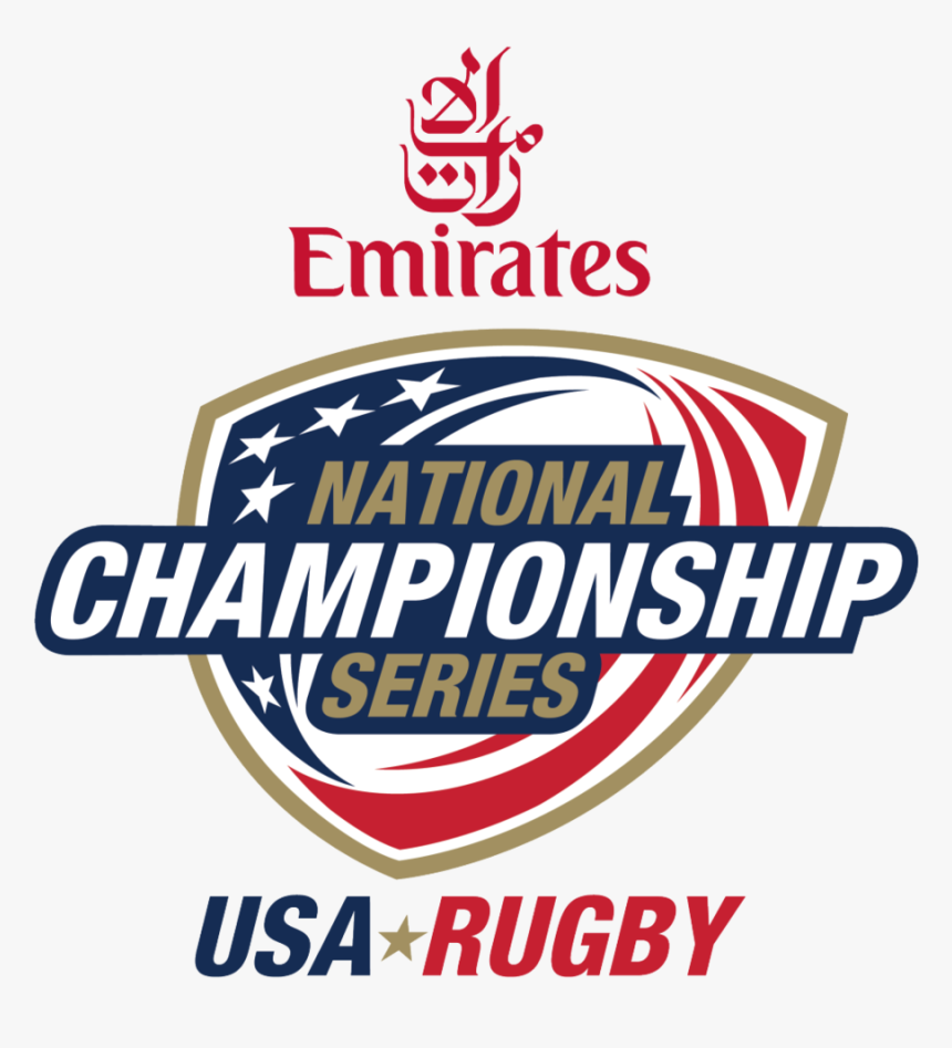 National Champ Logo Usa Rugby - Emirates Airlines, HD Png Download, Free Download