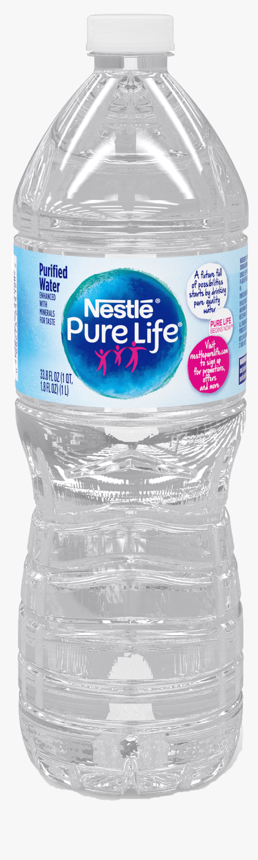 Plastic Bottle,water Bottle,bottled Water,drinking - Nestle Pure Life Bottle 2019, HD Png Download, Free Download
