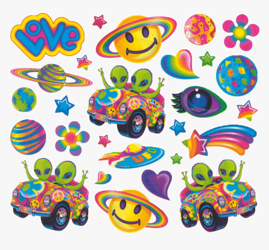90's Lisa Frank Stickers, HD Png Download, Free Download