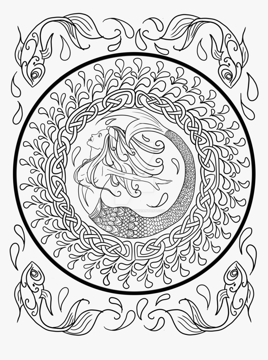 Clip Art Lisa Frank Adult Coloring Book - Celtic Knot Adult Coloring Pages, HD Png Download, Free Download