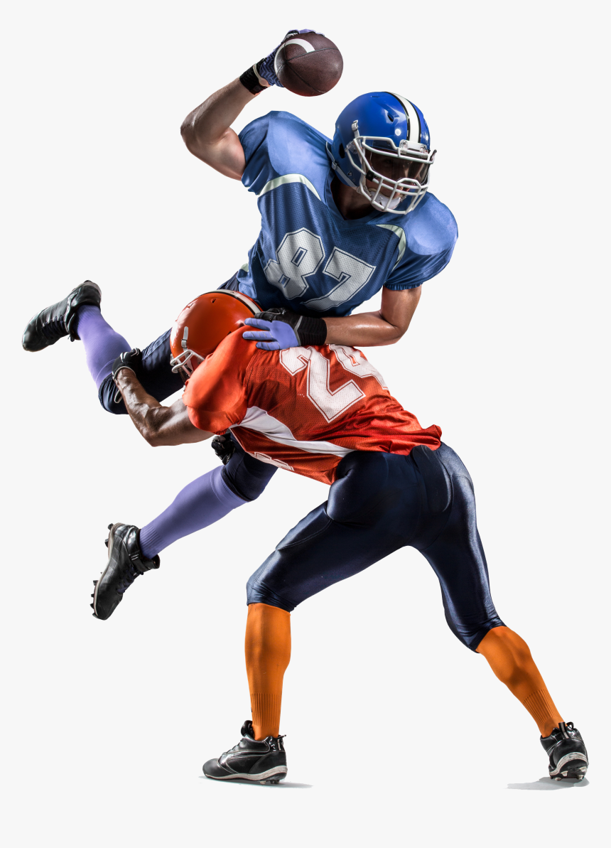 Football People Nfl Bowl Player American Team Clipart - American Football Players Png, Transparent Png, Free Download