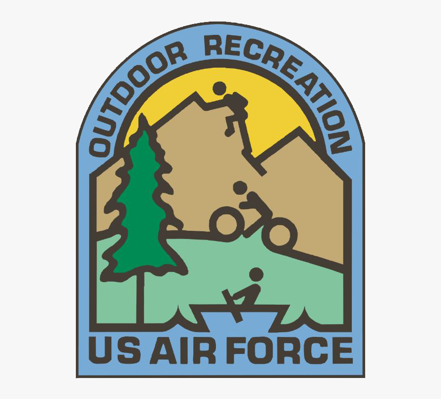Odr Logo - Air Force Outdoor Recreation Logo, HD Png Download, Free Download