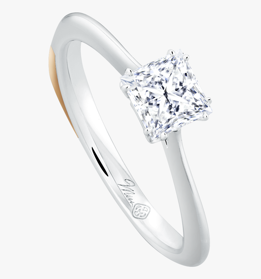 Miss Monochrome Png - Pre-engagement Ring, Transparent Png, Free Download