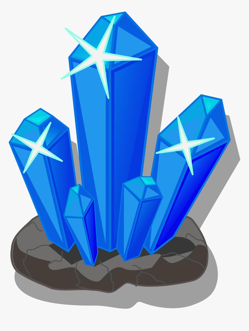 Crystals Minerals Salt Png Image - Rocks And Minerals Clipart, Transparent Png, Free Download