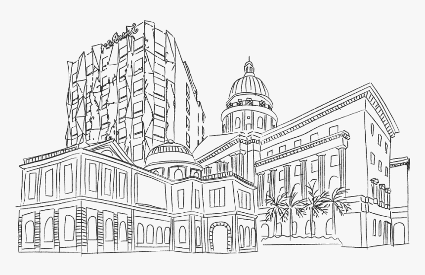 "9 Art & Cultural Finds In Singapore You Don""t Want - Singapore Art Museum Drawing, HD Png Download, Free Download"