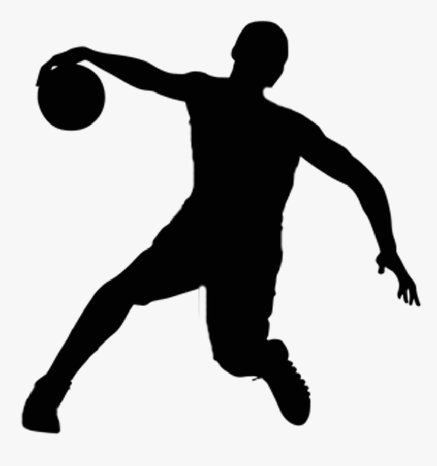 American Football Player Silhouette Png - Basketball Player Vector Png, Transparent Png, Free Download