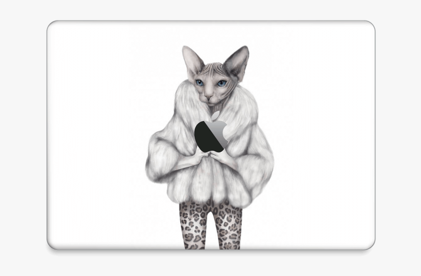 """Little Miss Purr Fect Skin Macbook Pro 13"""" 2016 - Poster, HD Png Download, Free Download"""