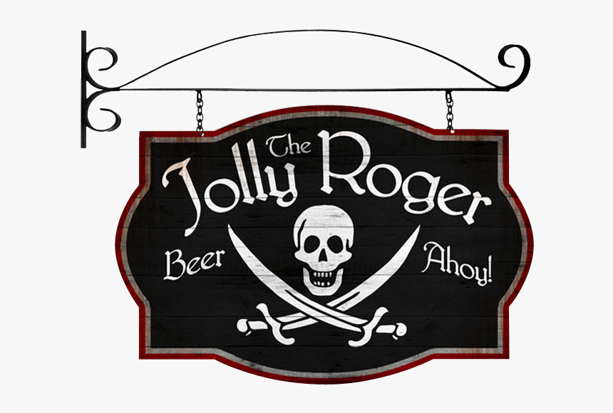 Pirate Wall Signs, Pirate Signs, And Jolly Roger Signs - Jolly Roger, HD Png Download, Free Download