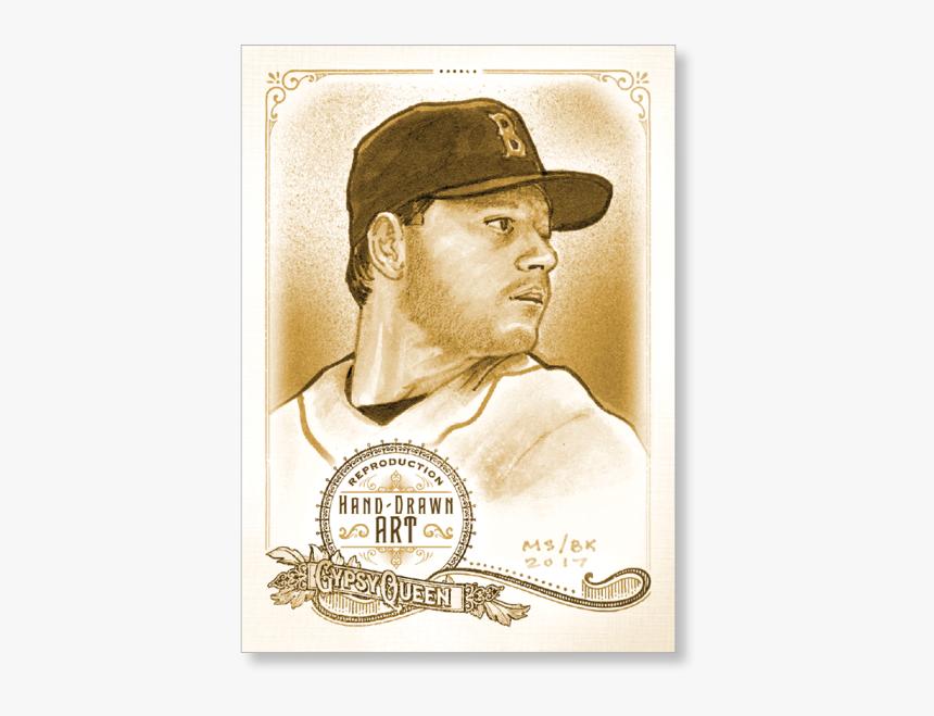 Roger Clemens 2017 Gypsy Queen Baseball Portrait Art - Gentleman, HD Png Download, Free Download