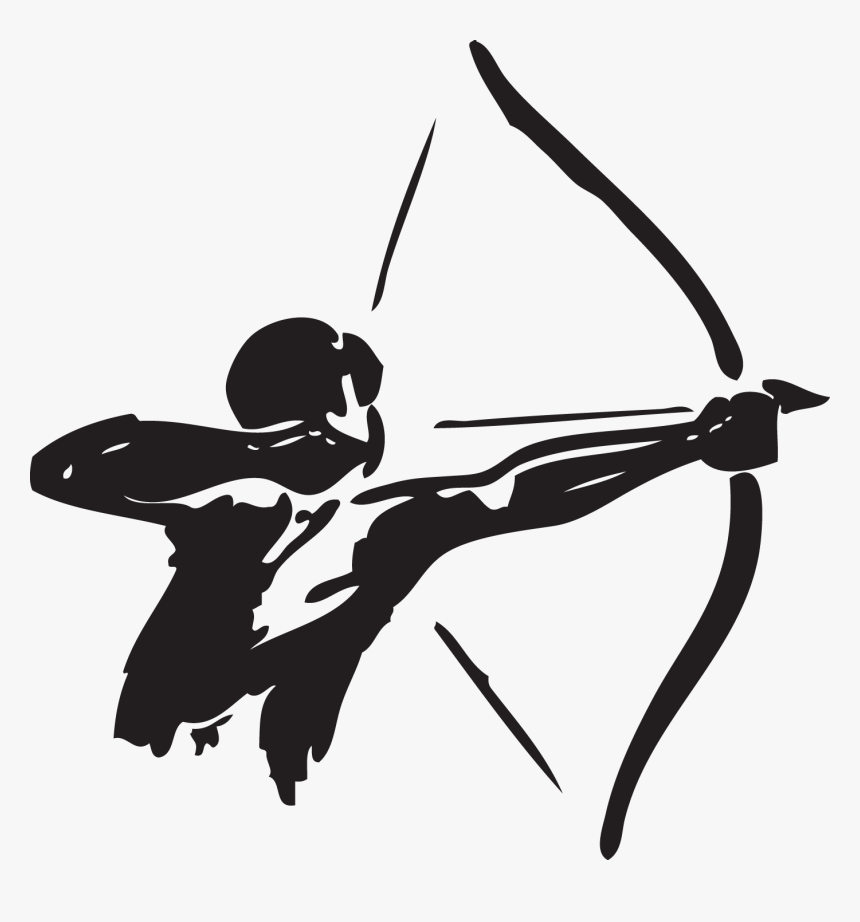 Archery Bow And Arrow Hunting Clip Art - Bow And Arrow Png, Transparent Png, Free Download