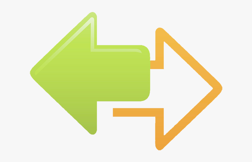 North Arrow Icon - Both Direction Arrows Png, Transparent Png, Free Download