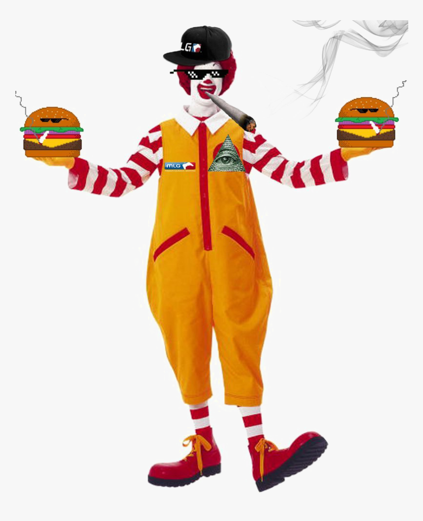 Ronald Mcdonald Transparent Image - Ronald Mcdonald, HD Png Download, Free Download