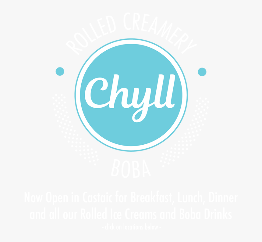 Chyll Rolled Creamery And Boba - Trakinvest, HD Png Download, Free Download