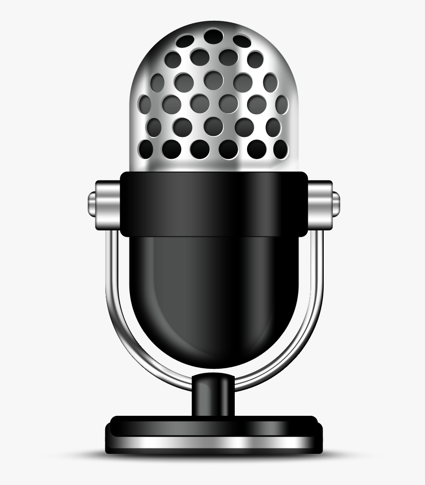 Psd Microphone Icon - Icon Microphone 3d Png, Transparent Png, Free Download