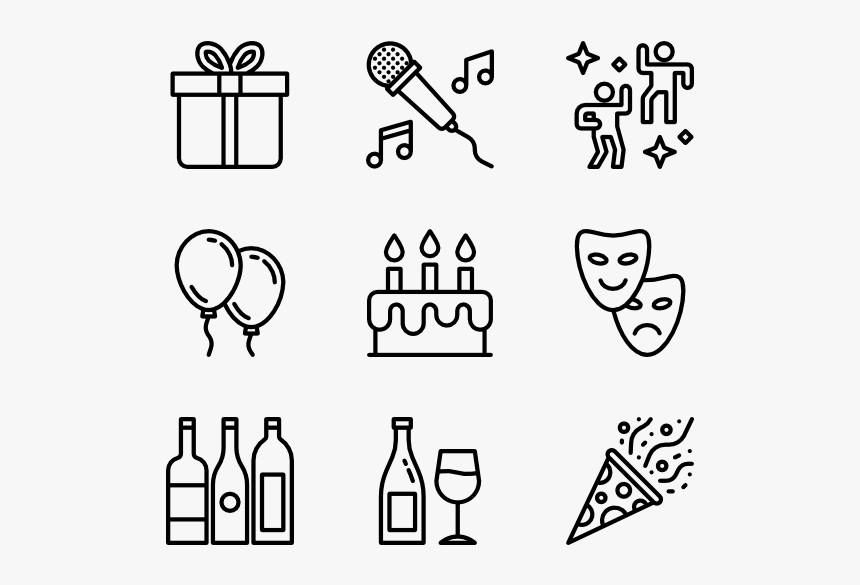 Pride Icon Black And White, HD Png Download, Free Download
