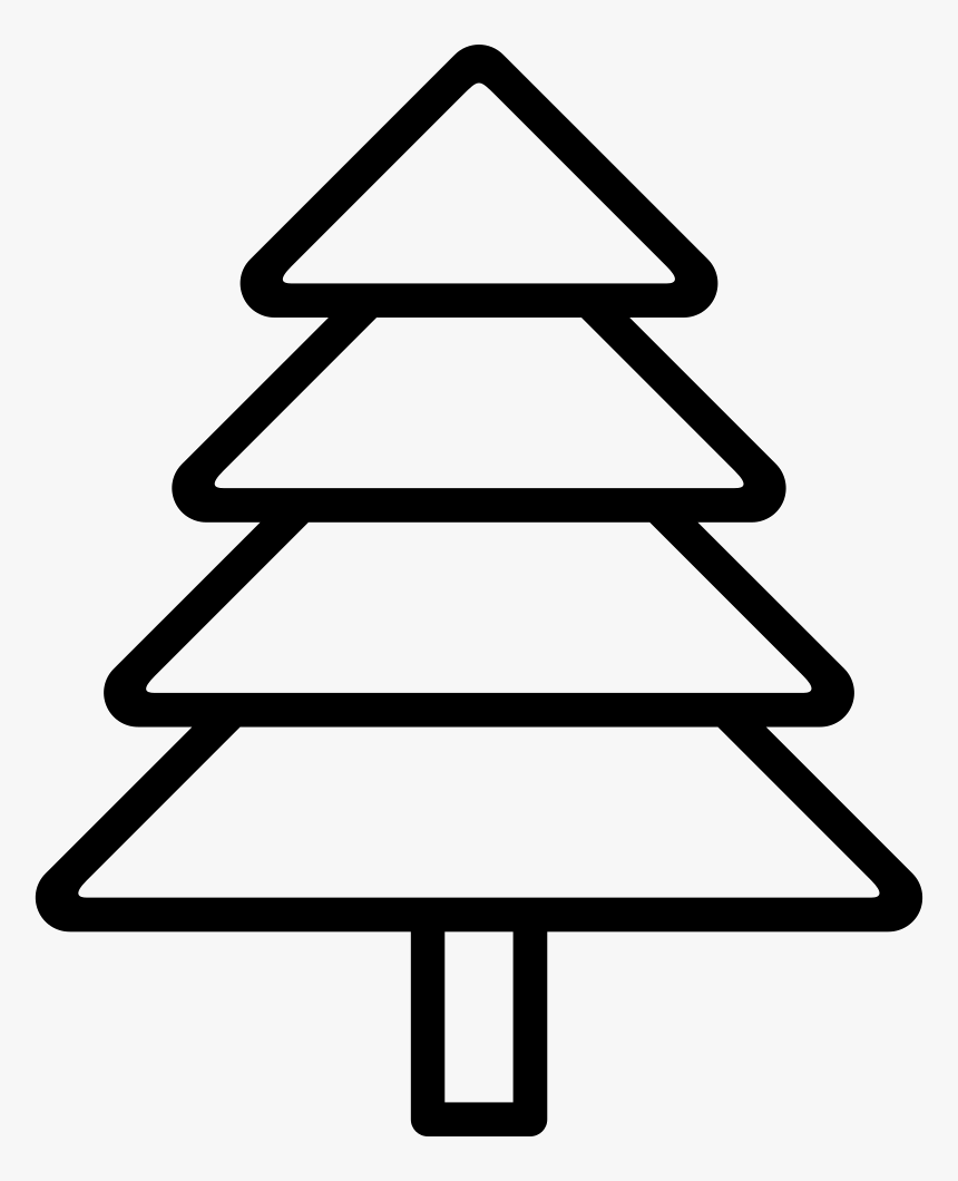 Tree Evergreen - クリスマス 無料 素材 アイコン, HD Png Download, Free Download