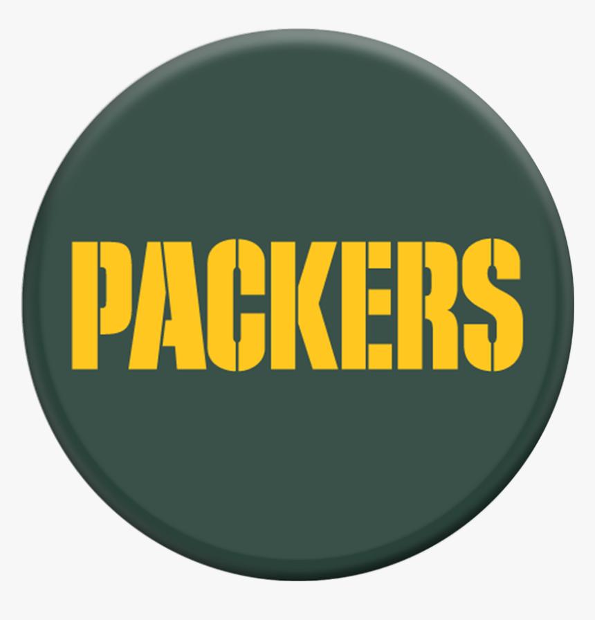 Nfl Green Bay Packers Logo Popsockets Grip Popsockets - Green Bay Packers, HD Png Download, Free Download
