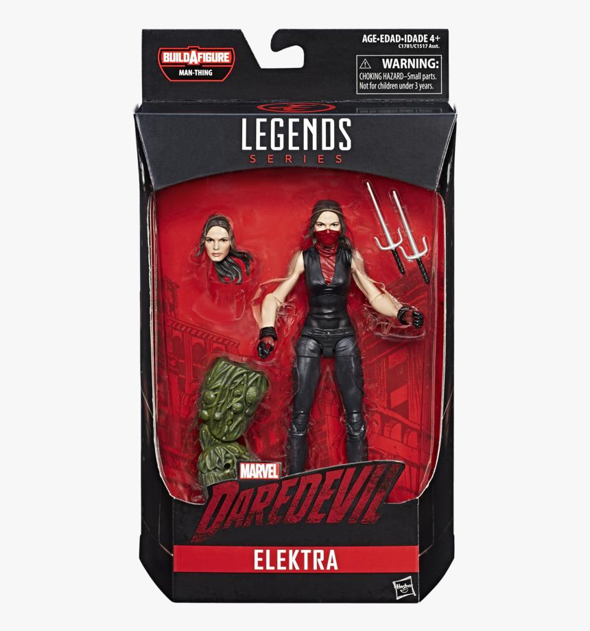 Marvel Legends Jessica Jones 6 Figure Netflix Man-thing - Marvel Legends Elektra Figure, HD Png Download, Free Download