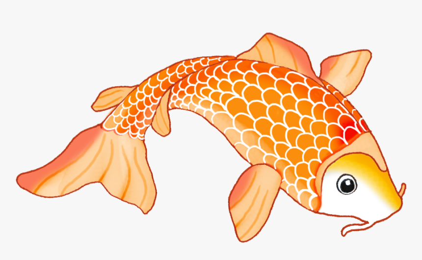 Clip Art Japanese Clip Library Download - Koi Fish Cut Out, HD Png Download, Free Download