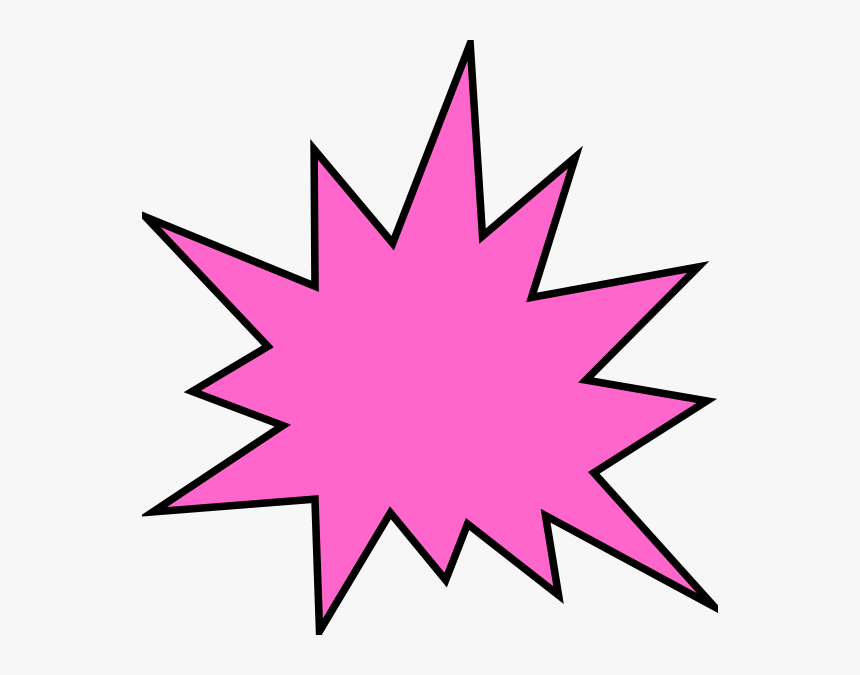 Pink Star Clip Art Transparent Background - Isis Cartoon 70s, HD Png Download, Free Download