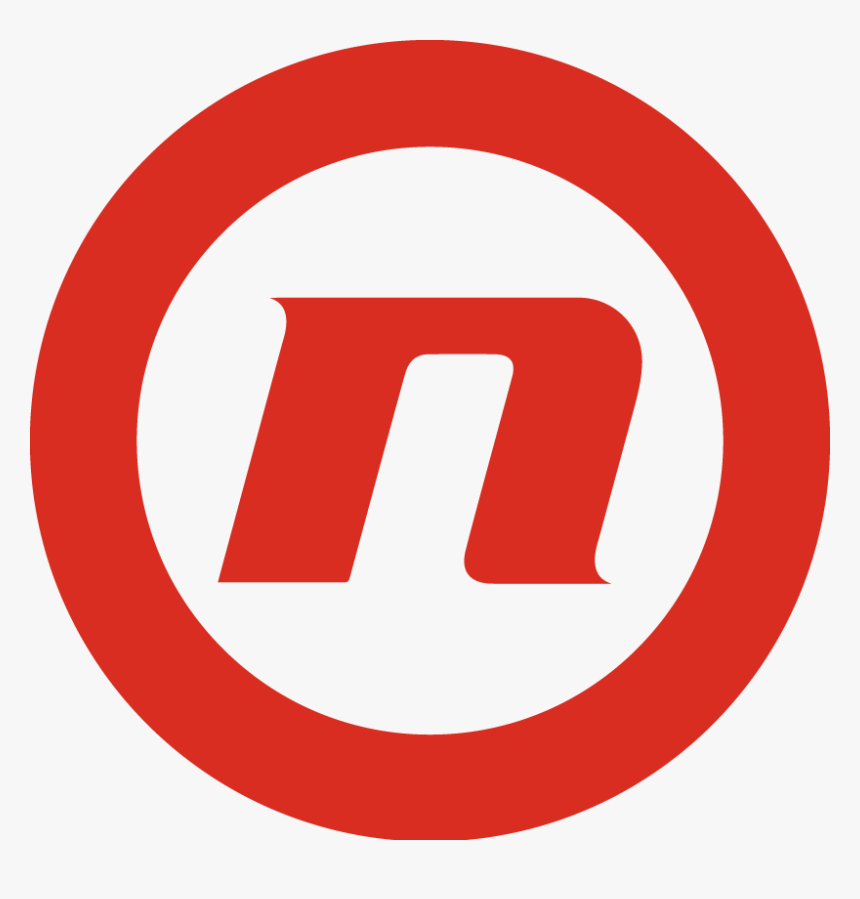 Nova Logo Corporate With Text Cmyk Red - U Turn Prohibited Sign, HD Png Download, Free Download