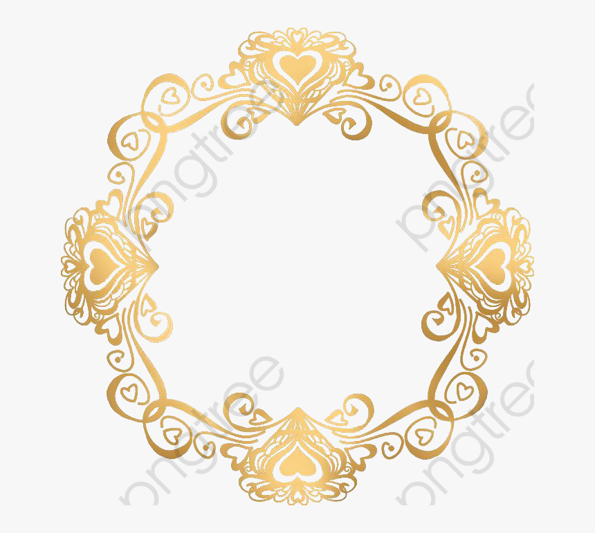 Transparent Gatsby Clipart - Wedding Gold Border Png, Png Download, Free Download