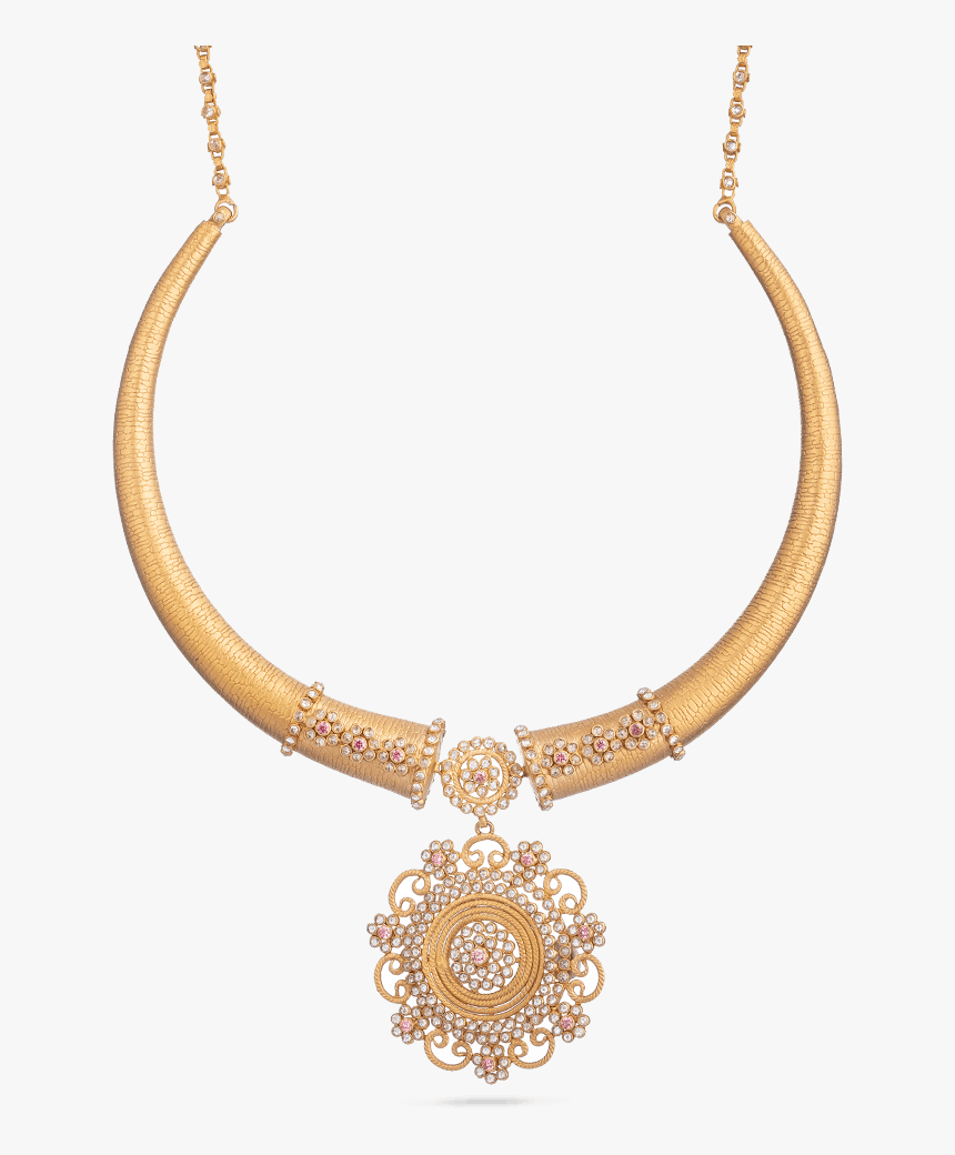 Indian Gold Bridal Necklace Set - Necklace, HD Png Download, Free Download