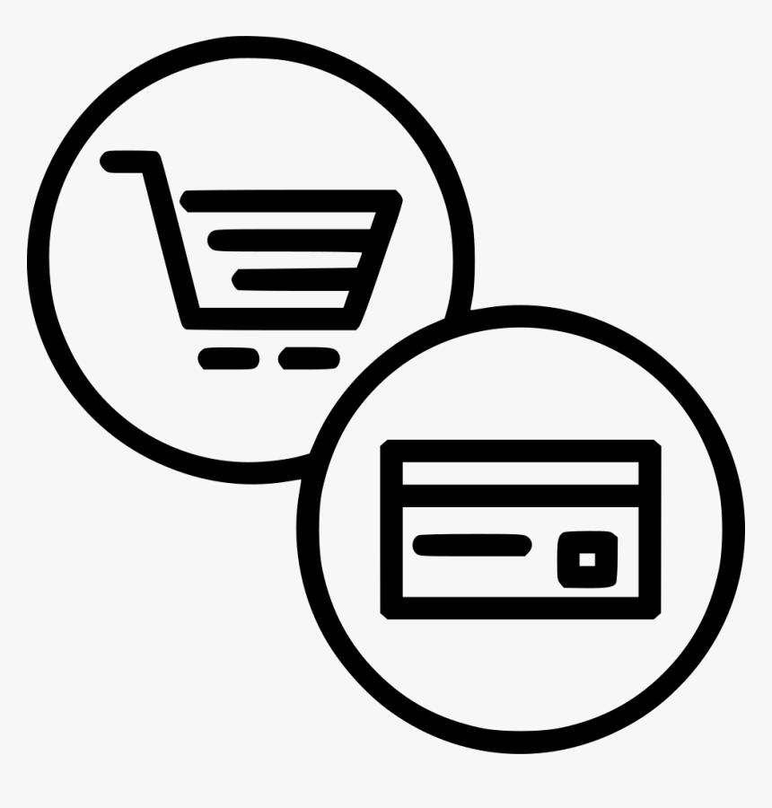 Online Finance Cart Credit Debit Card - Mobile E Commerce Icon, HD Png Download, Free Download